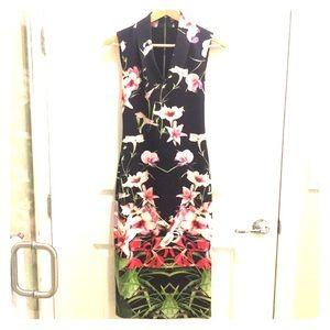 Ted Baker Midi Floral Dress